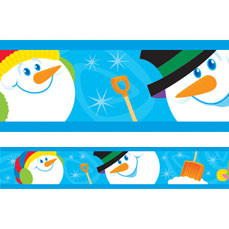 Display trimmers / borders | Christmas Snowman