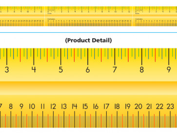 Classroom Display Borders | Maths Ruler Design Classroom Display Trimmers
