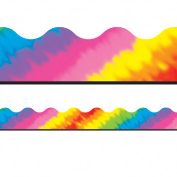 Tie-Dye Decorative Borders