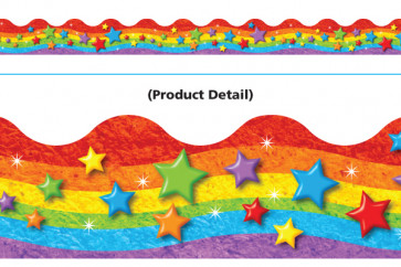 Classroom trimmers / borders | Rainbow and Stars Display Resources