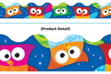 Classroom trimmers / borders   Owl Stars