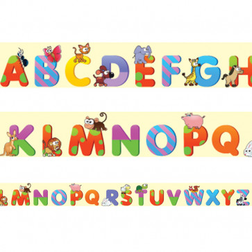 Classroom Borders | Alphabet Fun - A to Z Trimmers