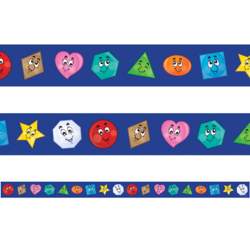 Classroom Borders | Happy Shapes - 12 metres