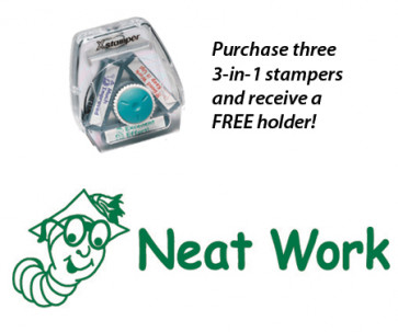 Teacher 3 in 1 Stamper | Neat work