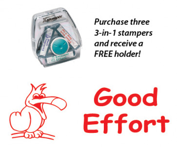Teacher 3-in-1 Stamper | Good Effort Parrot