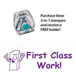First Class Work! 3-in-1 Stamper