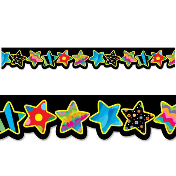 Classroom Border Design ~ Display borders poppin patterns stars m for