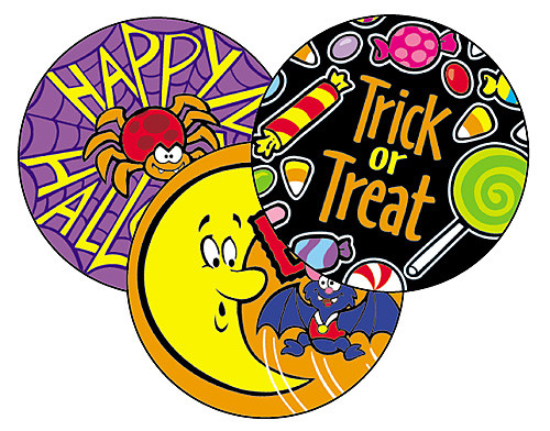 smelly stickers scratch n sniff happy halloween stickers for kids - Happy Halloween Stickers
