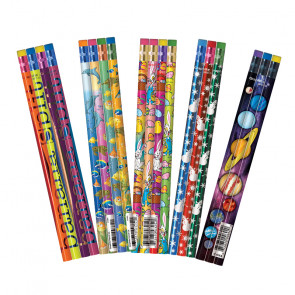 Kids Pencils | Mixed Design Value Box - 144 pencils