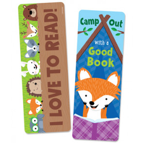 Bookmarks / Class Gifts | Love to Read/Camp Out with a Good Book Bookmarks