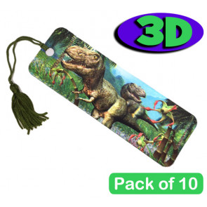 3D Dinosaur Bookmarks | Great Party Bag Fillers and End of Term  Pupil Gifts