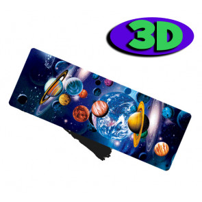 3 D Bookmarks | Space and Planets Design