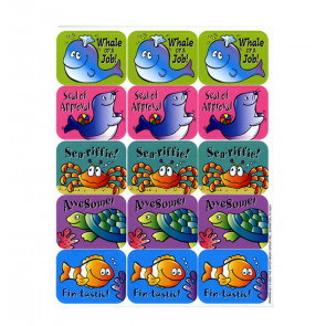 Teacher Stickers | Sea Creature Reward Stickers