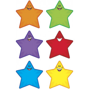 Classroom Display   Star Smiles Accent Cards