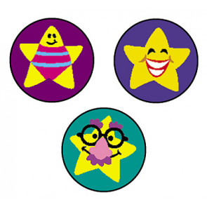 Silly Stars Primary School Stickers for Teachers