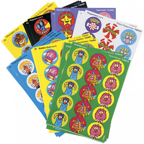 Kids Stickers | Colourful Favourites Smelly Stickers Variety Pack