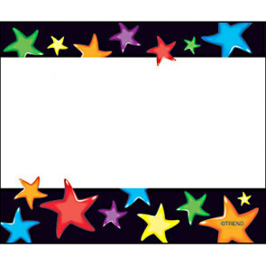 Gel Star School Name Labels