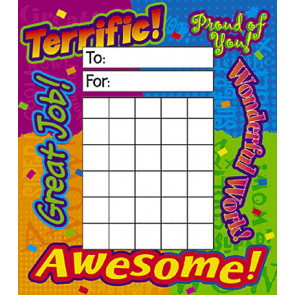 Reward Words Incentive Pads