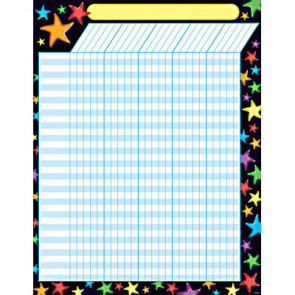 Children's Wall Reward Chart | Gel Stars