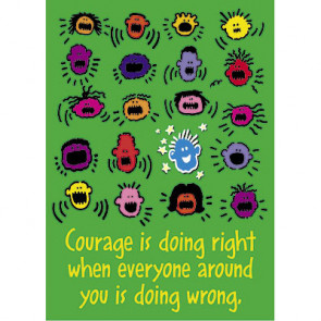 School Poster | Positive Message / Courage
