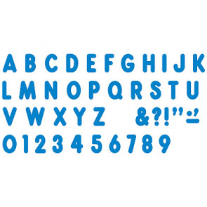 Display Letters and Number | Blue Billboard