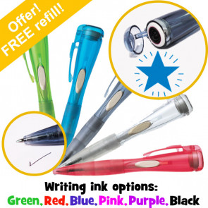 Stamp Pen | Shining Blue Star Xstamper Clix Pen