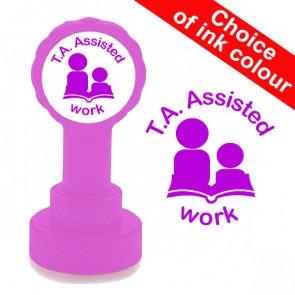 Teacher Stamp | T.A. Assisted Work Teacher Stamp