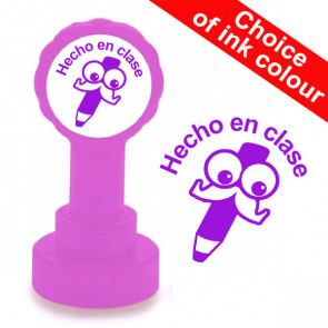 Teacher Stamp | Hecho en clase Spanish Teacher Stamp