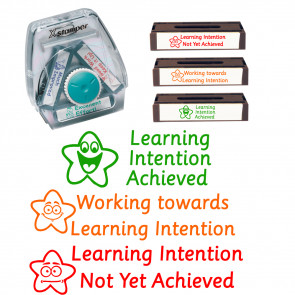 Xstamper Twist 'n Stamp Learning Intention - Achieved, Working Towards, Not Yet Achieved
