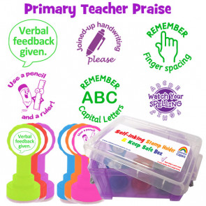 School Stamps | Primary Teacher Stamps - Marking 6 Stamp Boxset