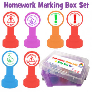 School Stamps | Homework marking set for Secondary School Teachers