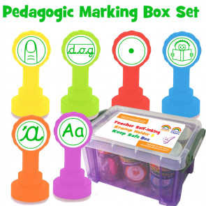 Teacher Stamps | Pedagogic Target Stamps (KS1) Teacher Stamp Box Set