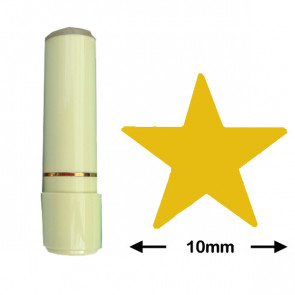 Reward / Loyalty Stamp | Gold Star (10mm)