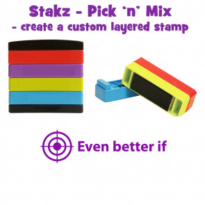 Teacher Stamps | Even better if Pick'n'Mix Stakz Layered Multistamp