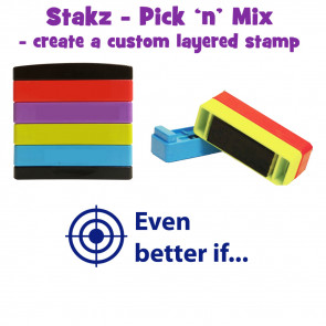 Teacher Stamps | Even better if: Pick'n'Mix Stakz Layered Multistamp