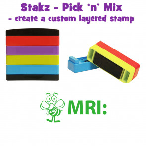 Teacher Stamps | MRI: Pick'n'Mix Stakz Layered Multistamp