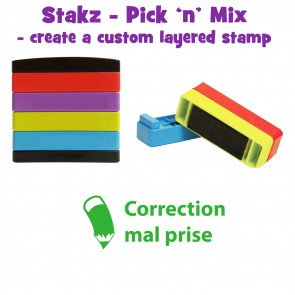 Teacher Stamps | Correctionmal prise Pick'n'Mix Stakz Layered Multistamp