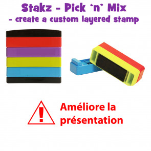 Teacher Stamps | Améliore la presentation Pick'n'Mix Stakz Layered Multistamp