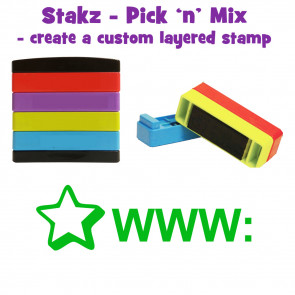 Teacher Stamps | WWW: Pick'n'Mix Stakz Layered Multistamp