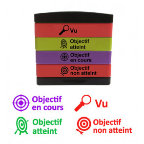 Teacher Stamp | French Objective / Objectif Stamper
