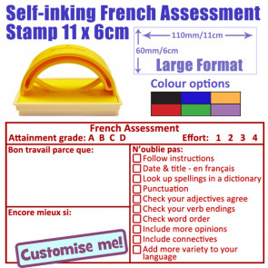 School Stamp | MFL French Assessment and Feedback Large