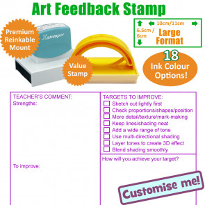 Teacher Stamps | Art Marking Stamp