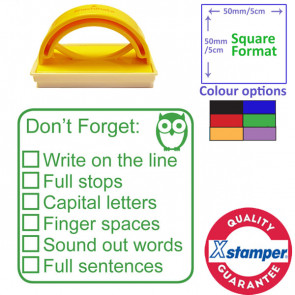 Teacher Stamp | Stage 2 of 3, Writing Self / Peer Assessment