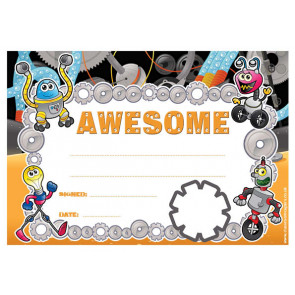 Personalised Certificates & Awards for Schools | Awesome Certificate - School logo custom option