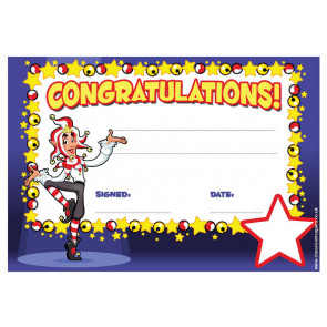 Personalised Certificates & Awards for Schools | Congratulations Certificate - School logo custom option