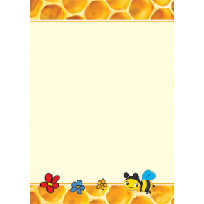 Teacher Classroom Resources | Honey Bee design computer and writing paper - A4