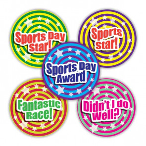 Sports Stickers | Sports Day Award Stickers