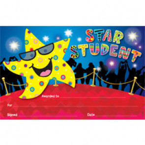 Certificates for Children | Star Student Award