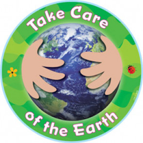 Picture Cards for Classroom Display | Take Care of the Earth Eco Cut Outs