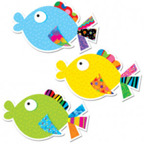 Picture Cards for Classroom Display | Fancy Fish Cut Outs